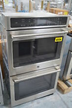 GE Cafe CT9550SHSS 30  Stainless Double Electric Convection Wall Oven  28740