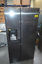 Samsung RS25J500DSG 36  Black Stainless Side by Side Refrigerator NOB  28804 HL