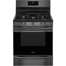 Frigidaire FGGF3036TD 30  Freestanding Gas Range in Black Stainless Steel