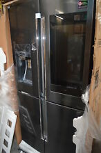 Samsung RF28N9780SG 36  Black Stainless 4 French Door Refrigerator NOB  29035 HL