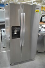 Whirlpool WRS321SDHZ 36  Side By Side Refrigerator Stainless Steel T2  29047 CLW
