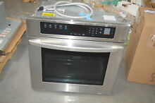 LG LWS3063ST 30  Stainless Single Electric Wall Oven NOB  28297 HL