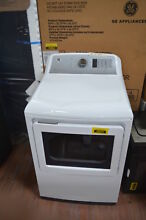 GE GTD75ECSLWS 27  White Front Load 7 4 cu ft  Electric Dryer  29101 CLW