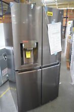 LG LNXS30866D 36  Black Stainless French 4 Door Refrigerator NOB  29268 HL CLW