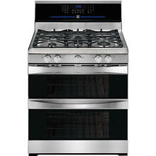 Kenmore Elite Gas Convection Double Oven Stainless Range   78153