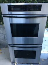 Thermador   Bosch  Stainless Steel Electric Double Wall Oven Model  SCD272T