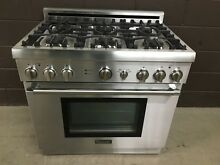 Thermador PRG366EH 07 Gas Range 36  Stove Pro 6 Burners Stainless