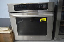 LG LWS3063ST 30  Stainless Single Electric Convection Wall Oven  29445
