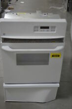 GE JGRP20WEJWW 24  White Single Wall Gas Oven w  Self Clean   29451