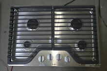 Whirlpool WCG51US0DS 30  Stainless Gas Cooktop 4 Burner  29468