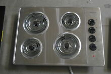 Frigidaire FFEC3005LS 30  Stainless Electric Cooktop 4 Element  29466