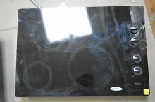 Whirlpool W5CE3024XB 30  Black Electric Cooktop 4 Element  29471