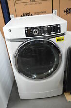 GE GFD49ERSKWW 28  White Front Load Electric Dryer NOB  29610 CLW