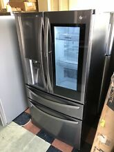 LG LMXC23796D 36  Black Stainless Counter Depth 4 Door French Door Refrigerator