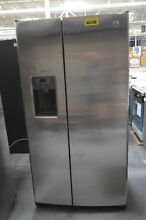 GE GSE25GSHJCSS 36  Stainless Side By Side Refrigerator  29772 CLW