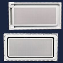 Whirlpool 8185035 Microwave Door Inner Panel Assembly  White