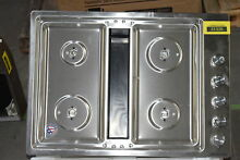 KitchenAid KCGD500GSS 30  Stainless Downdraft 5 Burner Gas Cooktop  289