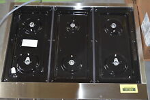 Jenn Air JGCP436WP 36  Stainless Pro Style 6 Burner Gas Rangetop  29854