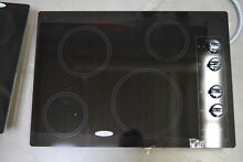 Whirlpool W5CE3024XB00 30  Black Electric Smoothtop Cooktop  29837