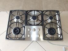 MIELE MODEL KM342LP 36  LP PROPANE GAS 5 BURNER COOKTOP STAINLESS
