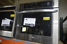 LG LWS3063BD 30  Black Stainless Single Electric Wall Oven NOB  9052 MAD