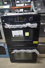 GE JTP35DPBB 30  Black Double Electric Wall Oven NOB  148 MAD