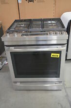 Jenn Air JDS1450DS 30  Stainless Dual Fuel Slide In Range Convection  29923 HRT