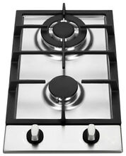 K H 2 Burner 12  NATURAL Gas Stainless Steel Cooktop 2 SSW