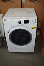 GE GFD43ESSMWW 27  White Front Load Electric Dryer  30020 HRT