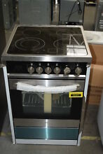 Haier HCR2250AES 24  Stainless Euro Style Electric Range Convection  30047 HRT