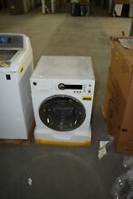 GE WCVH4800KWW 24  White Stackable Front Load Washer  29994 HRT