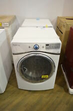 Whirlpool WGD94HEAW 27  White Front Load Stackable Gas Dryer NOB  29245 WLK