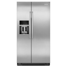 KitchenAid KRSC500ESS 36  Stainless Side by Side Refrigerator NOB  18462