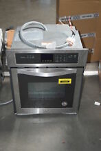 Whirlpool WOS51ES4ES 24  Stainless Single Electric Wall Oven NOB  30477 HRT