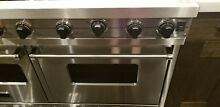 VIKING 48  PRO Range Stove VGIC4856QSS Gas 6 Burners  Grill Stainless Steel