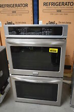 Frigidaire FGET3065PF 30  Stainless Double Electric Wall Oven NOB  31001 MAD