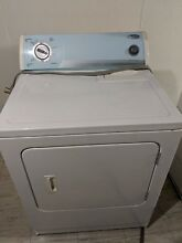 Whirlpool  6 5 cu  ft  Cabrio  Electric Dryer White wed5300sq0