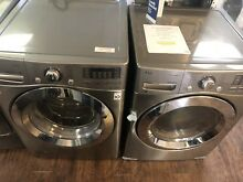 LG  FRONT LOAD WASHER AND GAS DRYER WM3670HVA   DLG3371V