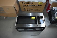 Samsung ME16H702SES 30  Stainless Over The Range Microwave Oven NOB  30628 HRT