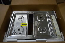 KitchenAid KCGD500GSS 30  Stainless 4 Burner Gas Cooktop NOB  31422 HRT