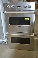 Viking VEDO1302SS 30  Stainless Double Electric Wall Oven NOB  31441 HRT