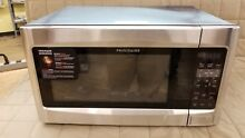 Dent  Frigidaire FFCE2278LS 1200W Countertop Microwave  2 2 Cu ft  Stainless