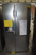 LG LSXS26326S 36  Stainless Side by Side Refrigerator NOB  31954 MAD