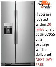 Kenmore Stainless Steel 25 cu  ft Double Door Refrigerator Built in Dispenser