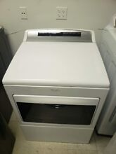 WHIRLPOOL 7 4 CF 26 CYLCE GAS DRYER WHITE WGD7500GW 1 YEAR WTY