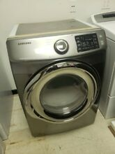 SAMSUNG 7 5 CF 10 CYCLE GAS DRYER WITH STEAM DV42H5200GP PLATINUM