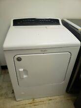 WHIRLPOOL  CABRIO 7 0 CF HIGH EFFICIENCY GAS DRYER WHITE WGD7300DW 1 YEAR WTY