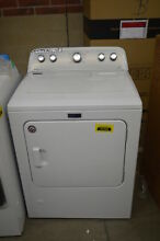 Maytag MGDX655DW 29  White Front Load Gas Dryer NOB  34349 MAD