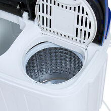 Best Choice Products Portable Compact Mini Twin Tub Laundry Washing Machine and