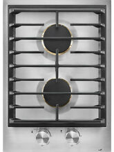 Jenn Air JGC3215GS 15  Stainless 2 Burner Gas Cooktop NOB  32007 HRT